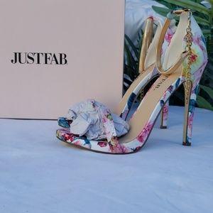 Justfab Teana Heeled Sandal Women's size 6